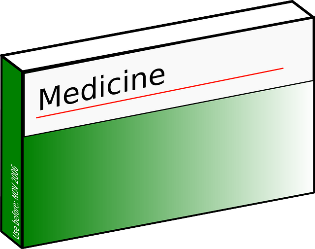 Vector Graphic of Medicines