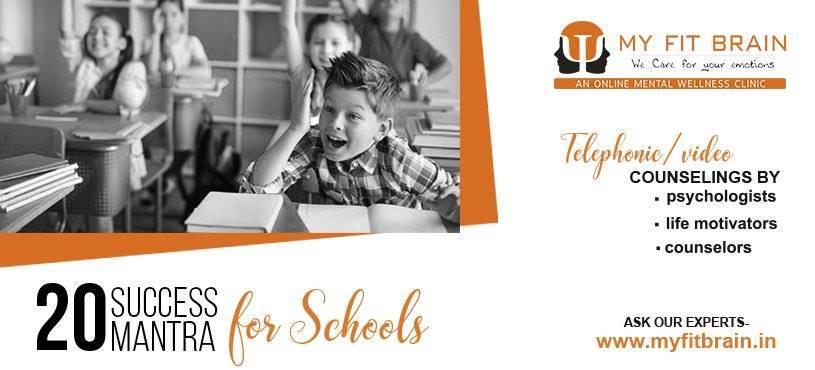 20 Success Mantra for Schools | Child Psychologist