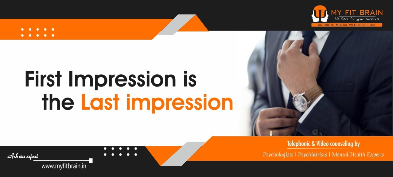 First Impression Is the Last Impression