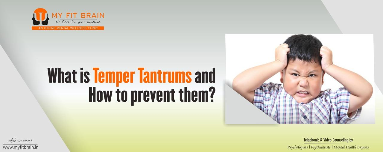 Handling Temper Tantrums of Childs.