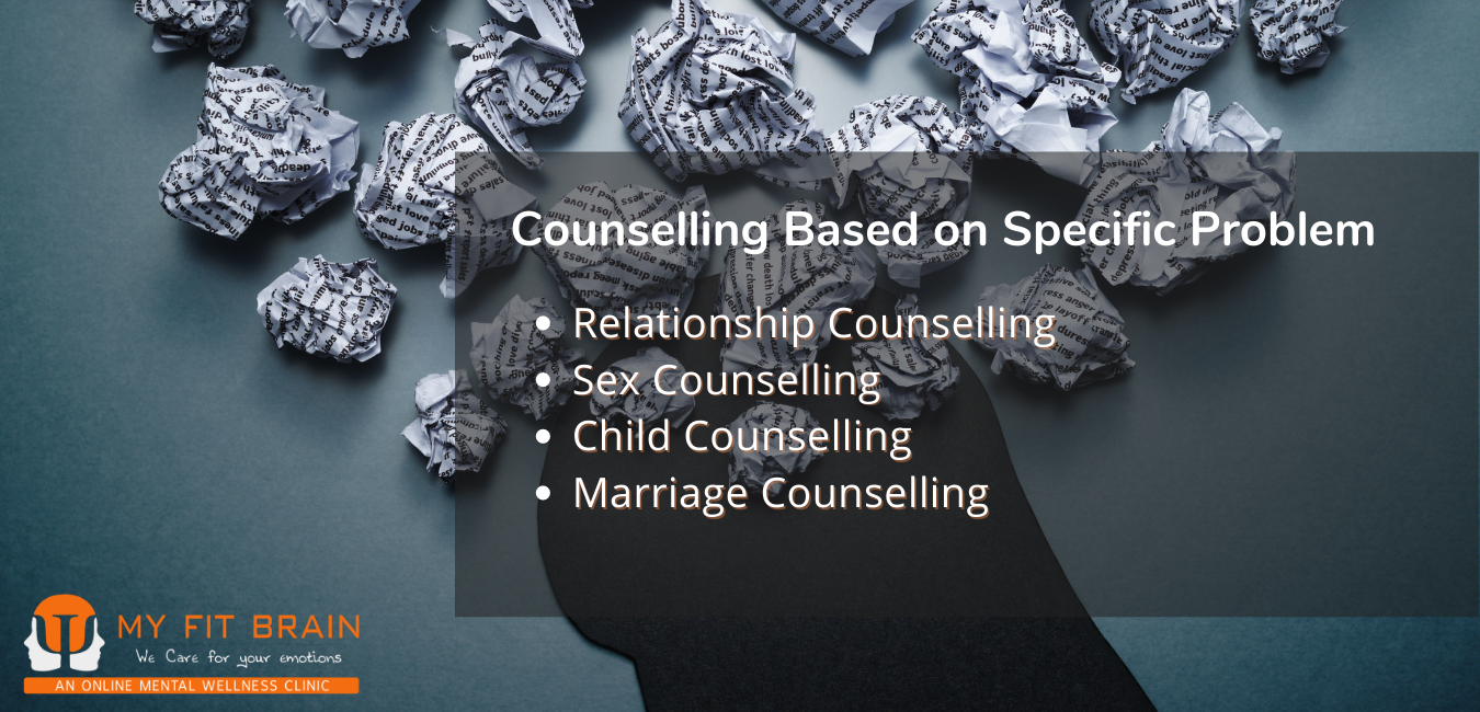 Inforgraphic -  counselling based on specific problem